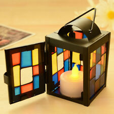 Morrocan Stand Candlestick Candelabrum Candle Tea Light Holder Lantern #1