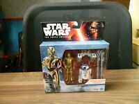 Star Wars, The Force Awakens, R2-D2 &C-3PO boxed figures
