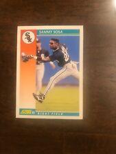 SAMMY SOSA 1992 SCORE BASEBALL CARD # 258
