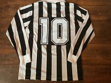 1992 1994 Juventus Baggio No 10 L/s Football Shirt Adults Large Maglia Jersey