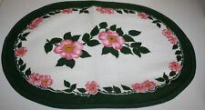 Wildrose großes Tischset oval 51 x 37 cm / Set aus Stoff Villeroy & Boch NEU