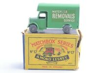 Matchbox Lesney Moko No 17 Bedford Removals Van - Made In England - Boxed