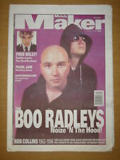 MELODY MAKER 1996 AUG 3 BOO RADLEYS BLACK GRAPE COLLINS