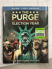 The Purge Election Year - NO MOVIE - just OUTER SLIP COVER