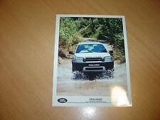 PHOTO DE PRESSE ( PRESS PHOTO ) Land Rover Freelander de 1997  R0133