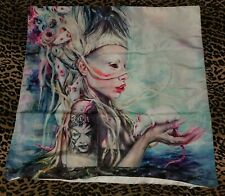 RARE Zef DIE ANTWOORD Yolandi Visser PILLOW Cover Case RATS Couch LOUNGE Bed WOW