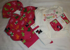 GYMBOREE Girls Size 3 Cheery All The Way Leggings 3T Shirt 3-4 Socks Jacket NWT