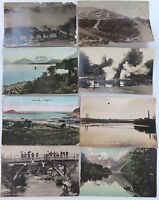 NEW ZEALAND. VERY NICE LOT EARLY 1900'S POSTCARDS.
