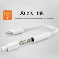 Earphone For iPhone 7 8 Lightning To 3.5mm Headphone Jack Plug Aux Adapter Cable