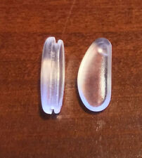 2x 13mm Tear Drop Silicone System 3 Fixing Air Pad Glasses Sunglasses Nose Pads