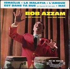 BOB AZZAM / MINY GERARD - 1960 France EP 45 tours