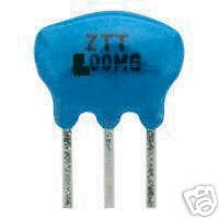 Résonateur 4 MHz PIN 3 Packs de 2