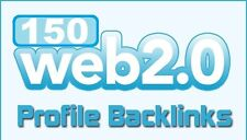 Over 150 Web 20 Profile Backlinks On High Page Rank Sites For Your Website Seo