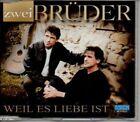 (AE535) Zwei Bruder, Weil Es Liebe Ist - 2000 CD