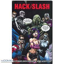 Hack / Slash 8 Superhelden Sidekick Schlachtfest Seeley 9783864251030 HORROR