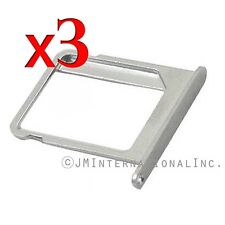 3X iPhone 4 iPhone 4S iPhone 4 CDMA Metal SIM Tray SIM Card Tray Holder USA