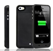 Cover e custodie semplice nero per iPhone 5