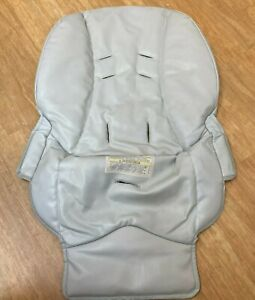 REPLACEMENT SEAT Graco Blossom High Chair Gray - Faux Leather Seat Cover