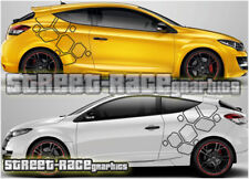 Renault Megane 021 - diamonds decals vinyl graphics stickers 225 R26