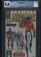New Mutants #99 CGC 9.8 Rob Liefeld 1991- 1st appearance of Feral & Shatterstar