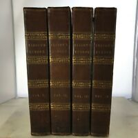 1842 History Europe French Revolution France Archibald Alison 4 Vols Set Leather