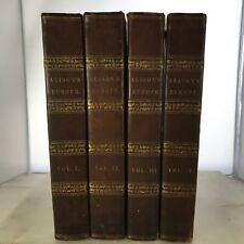 1842 History Europe French Revolution France Archibald Alison 4 Vols Set Leather