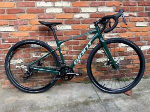 DEMO Giant Revolt 2 Gravel Bicycle XS, Trekking Green