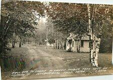 Minnesota, MN, International Falls, Green's Tourist Park 1946 Real PhotoPostcard