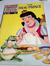 Classics Illustrated Junior-  The Frog Prince (1956 1st Print) #526