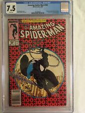 The Amazing Spider-Man #300 CGC 7.5 Very Fine- Graded on 6/11/21, Venom