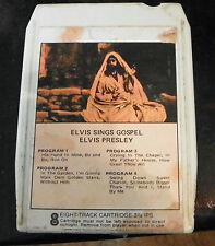 Elvis Presley  Elvis Sings Gospel  8 Track Cartridge Tape (RP)
