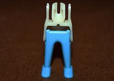 Playmobil pièce détachée paire de jambes bleu ciel pour custom ref aa