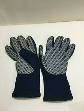 Dacor 3MM Blue Pull-on Wetsuit Scuba Diving Gloves Size S EUC