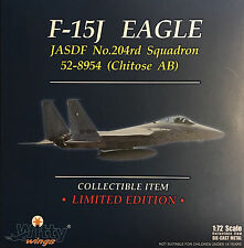 Witty Wings 1/72 JSDAF F-15J 7th Wing 204th TFS No.52-8954, 2011 Diecast Plane