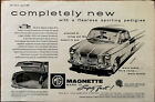 MG Magnette Mark III Completely New with A Flawless Sporting Pedigree Ad 1959