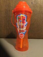 2014 Six Flags Theme Park Orange Souvenir Bottle