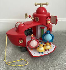CBeebies Twirlywoos Big Red Boat with 3 Figures - Lights and Sounds Working