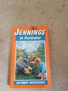 Jennings In Particular,Anthony Buckeridge, Rodney Sutton 1991 unread condition