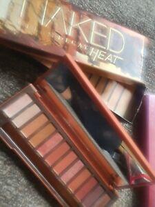 naked heat eyeshadow palette pre-owned makeup eyeshadow