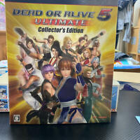"""PS3 """"DEAD OR ALIVE 5 ULTIMATE Collectors Edition"""" Sony Game /No Software"""
