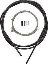 Shimano MTB Stainless Brake Cable and Housing Set, Black