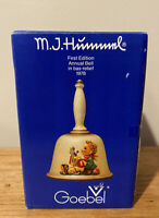 MJ Hummel Bell Goebel First Edition Annual Bell 1978 Collectable with Box