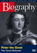 BIOGRAPHY: PETER THE GREAT (A&E DOCUMENTARY) NEW AND SEALED