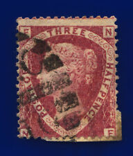 1870 SG52 1½d Lake-Red Plate 1 G6(2) NF Misperf Good Used Cat £110 cvpv