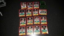lot image  foot  panini 87  equipe  complete   ST  ETIENNE