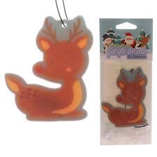Ciervo de Navidad Colgante 2D Ambientador Coche Aroma olor-Bosque Invierno