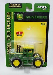 """John Deere Model 7020 4wd Tractor """"New Item!"""" Sticker 1/64 Scale By Ertl"""