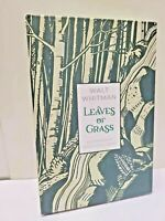 LEAVES OF GRASS: ILLUSTRATED EDITION by Walt Whitman ~Brand New Hardcover~