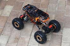 Custom Body Mini Muddy Orange for Redcat Racing Rockslide / Everest 1/10 Crawler