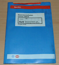 VW Passat B4 Motronic  Einspritz und Zündanlage AEK Stand 1994 Werkstatthandbuch
